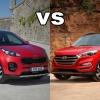 Hyundai Tucson2016 VS  Kia Sportage 2016