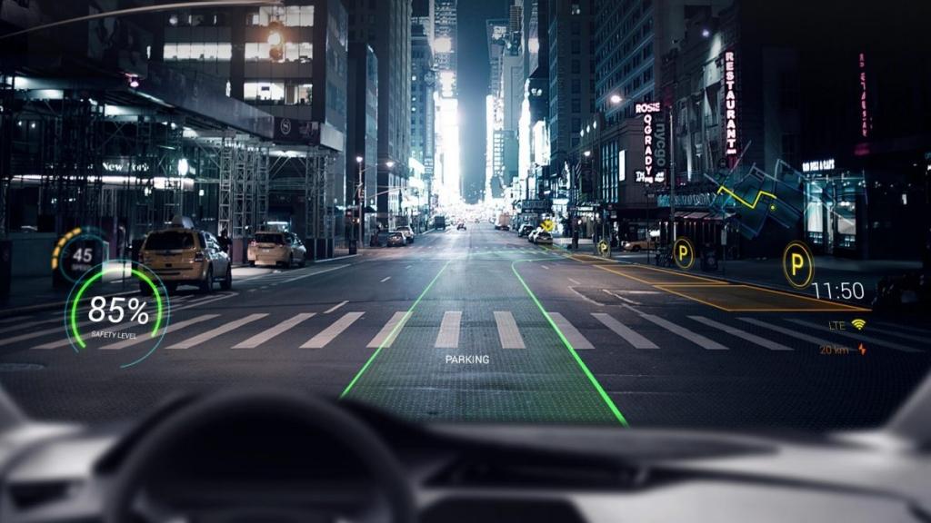 فناوری شیشه هوشمند هیوندای